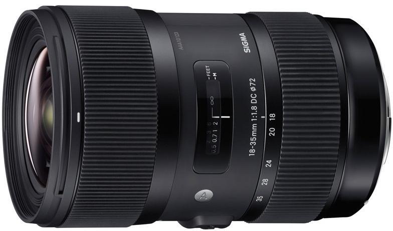 цена на Объектив Sigma Canon AF 18-35 mm F/1.8 DC HSM ART