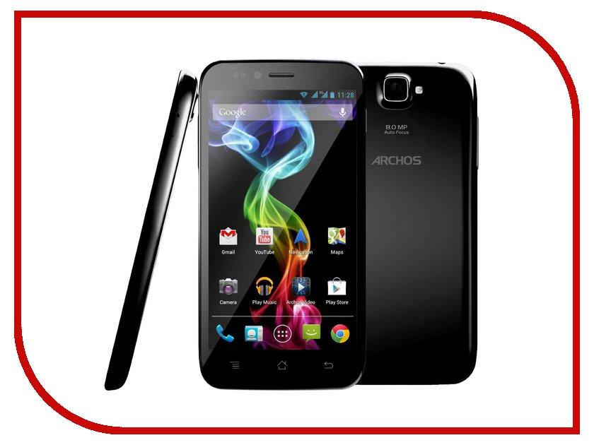 Сотовый телефон Archos 50 Platinum 4G Black 503204