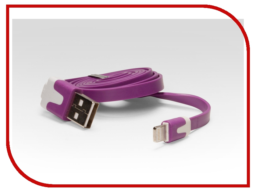 ��������� iQFuture Lightning to USB Cable for iPhone 5/iPod Touch 5th/iPod Nano 7th/iPad 4/iPad mini IQ-AC01 Violet