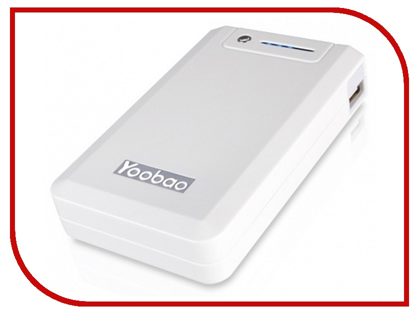 Аккумулятор Yoobao Power Bank YB-655 11000mAh White