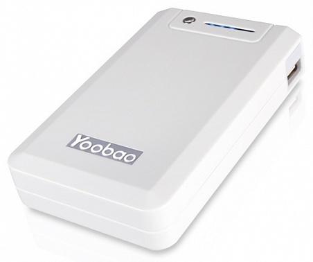 Аккумулятор Yoobao Power Bank YB-655 11000 mAh White