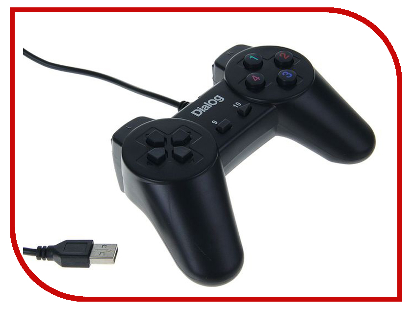 Геймпад Dialog Action GP-A01 dialog action gp a11 черный геймпад вибрация 12 кнопок usb