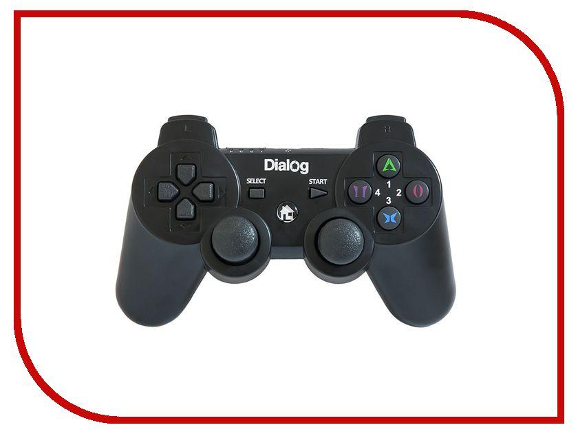 Геймпад Dialog GP-A17RF dialog action gp a11 черный геймпад вибрация 12 кнопок usb