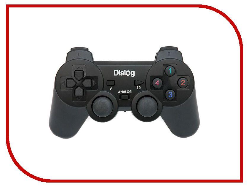 Геймпад Dialog GP-A11RF Black dialog md 15 black