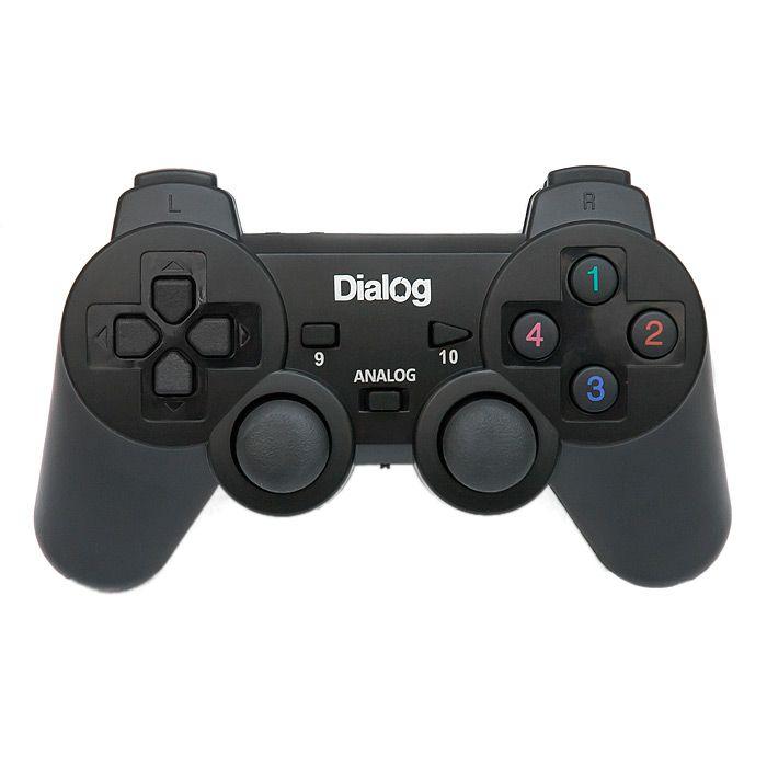 Геймпад Dialog GP-A11RF Black геймпад dialog gan kata gp a16rf black