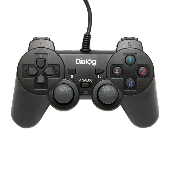 Геймпад Dialog Action GP-A11 Black кабель dialog cp 0115 black
