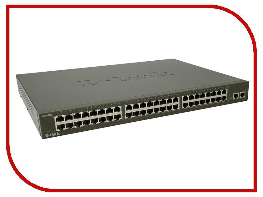 D-Link DES-1050G коммутатор d link dgs 3120 48tc b1ari