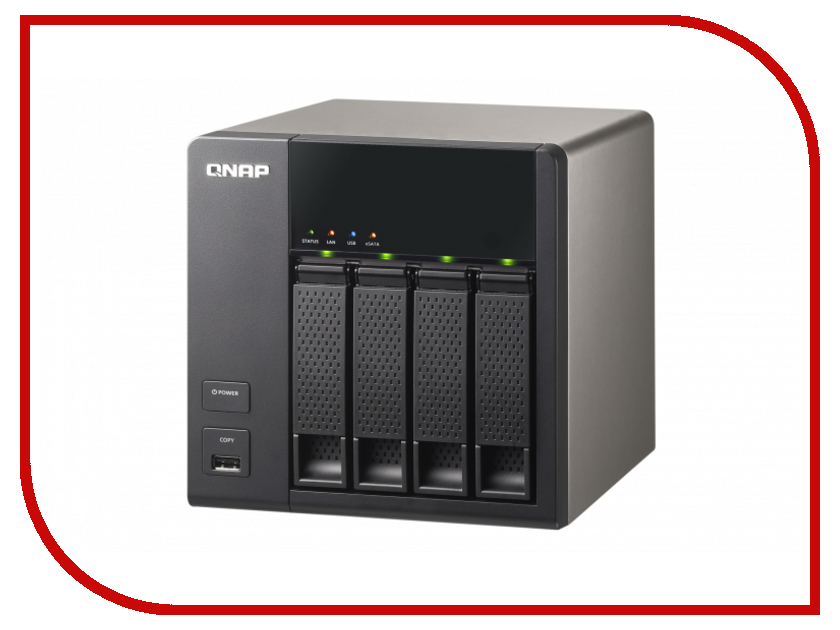 Сетевое хранилище QNAP TS-469L<br>