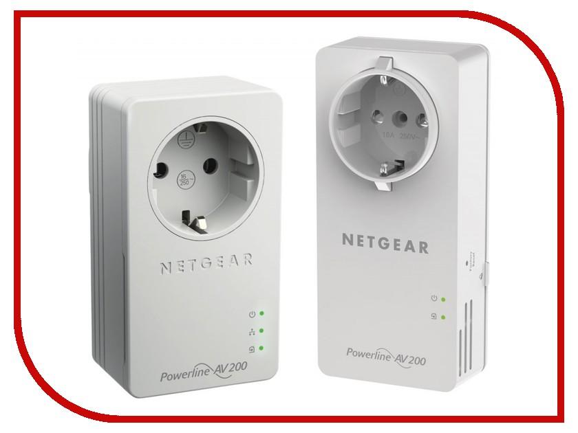 Powerline адаптер Netgear XAUB2511-100PES Powerline AV200<br>