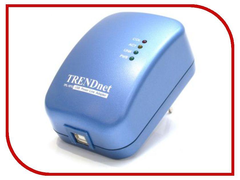 Powerline адаптер TRENDnet TPL-101U<br>