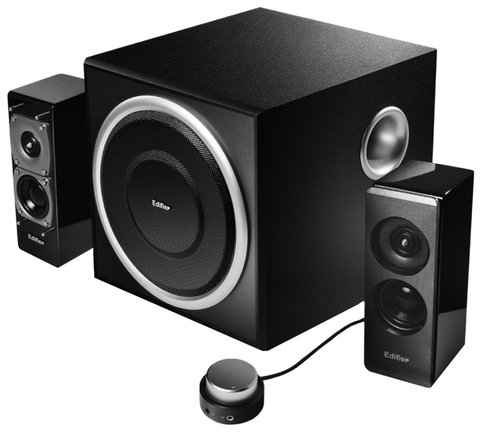все цены на Колонка Edifier S330D Black онлайн