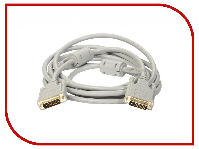 Аксессуар ExeGate DVI 25M-25M Dual Link 5m 191096 аксессуар gembird cablexpert dvi d dual link 25m 25m 4 5m black cc dvi2 bk 15