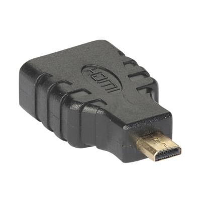 Аксессуар Exegate micro HDMI (M) to HDMI (19F) v1.4b 194343