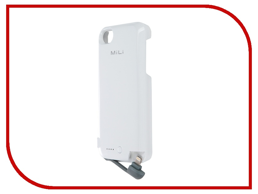 Аксессуар MiLi Power Spring 5 HI-C25 for iPhone 5 White<br>