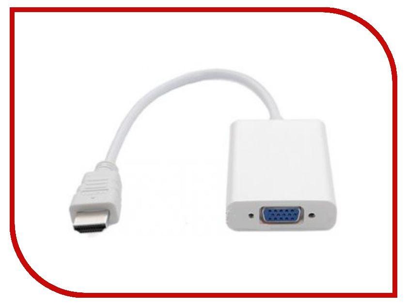 Аксессуар Espada HDMI 19M / VGA 15F EHDMI M-VGA F20 адаптер hdmi m vga 15f audio orient c119