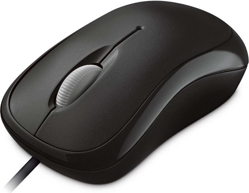 лучшая цена Мышь Microsoft Basic Black P58-00059 USB
