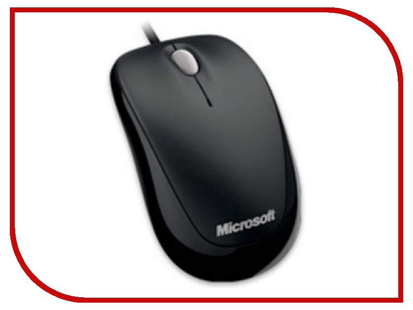 все цены на Мышь Microsoft Compact Optical Mouse 500 Black 4HH-00002 USB онлайн
