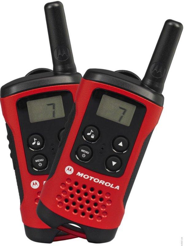 Рация Motorola TLKR T40 motorola tlkr t41 розовый