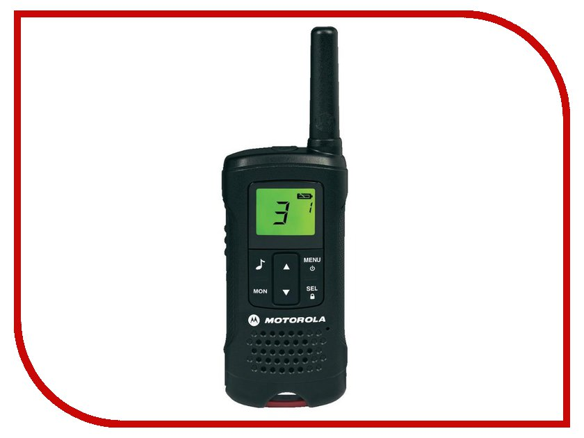 Рация Motorola TLKR T60 motorola pulse 2 wired black