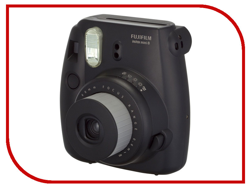 Фотоаппарат FujiFilm 8 Instax Mini Black