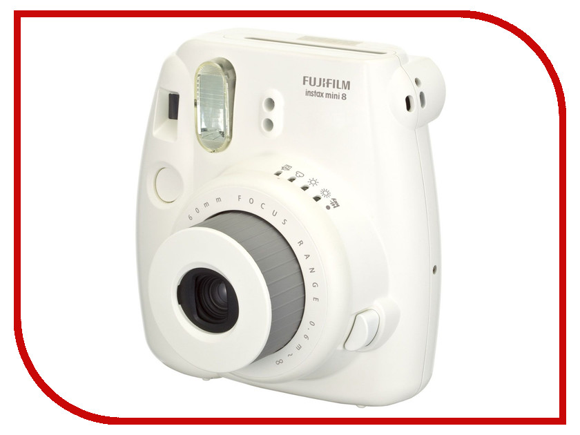 Фотоаппарат FujiFilm 8 Instax Mini White