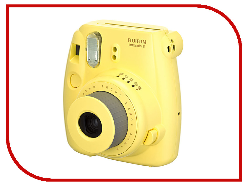 Фотоаппарат FujiFilm 8 Instax Mini Yellow
