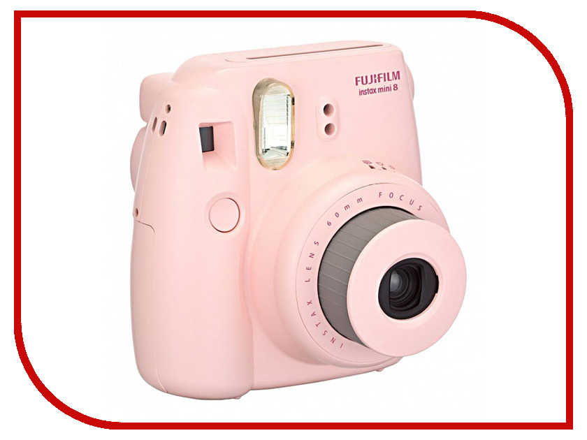 Фотоаппарат FujiFilm 8 Instax Mini Pink<br>