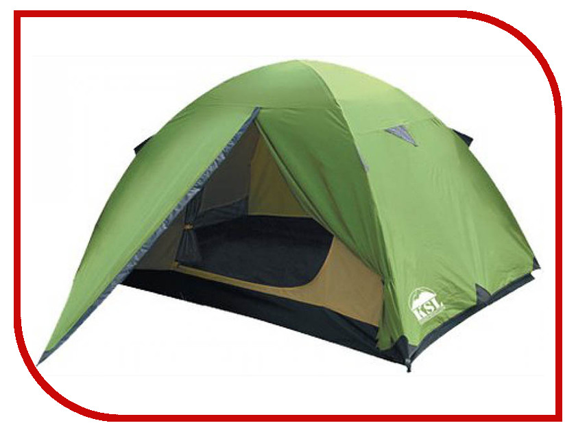 Палатка KSL Spark 3 Green 6125.3401