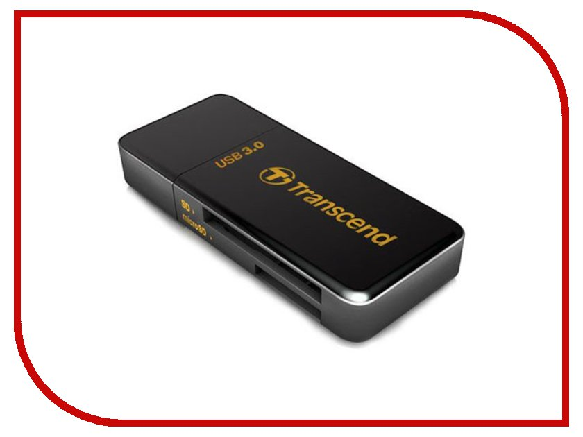 Карт-ридер Transcend Multy Card Reader USB 3.0 TS-RDF5K цена 2017