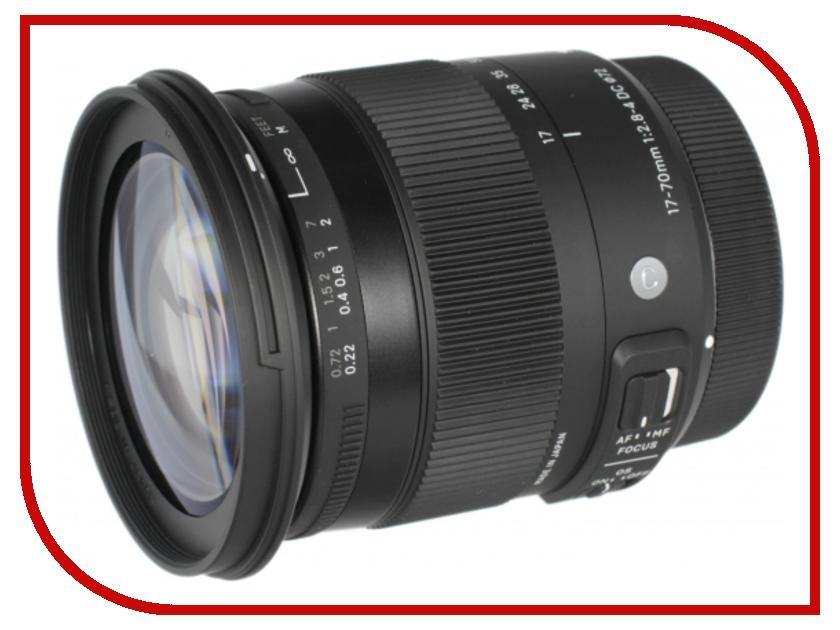 Объектив Sigma AF 17-70mm f/2.8-4.0 DC MACRO HSM new Contemporary Minolta A<br>