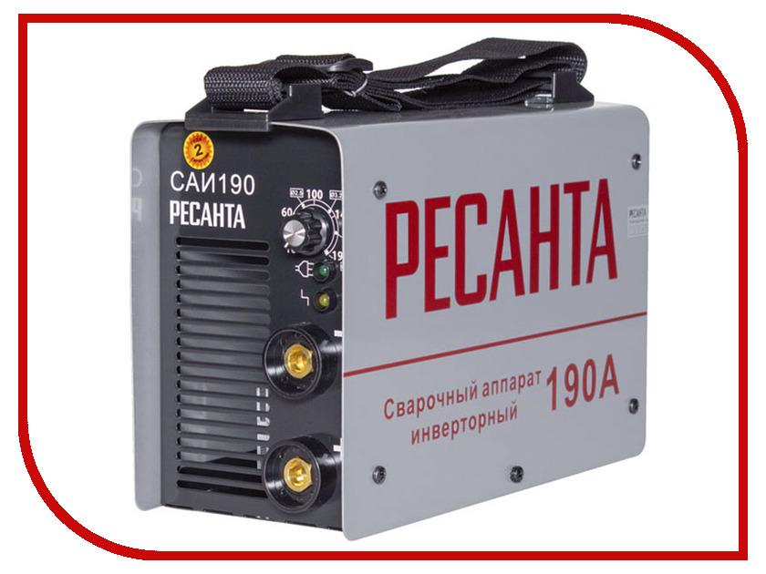 где купить Сварочный аппарат Ресанта САИ 190 65/2 по лучшей цене