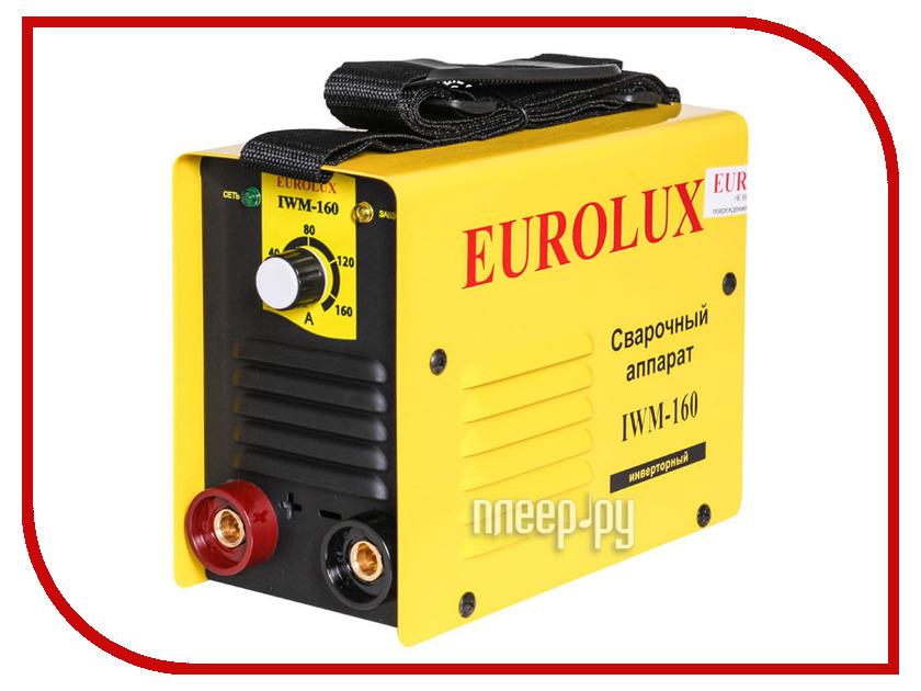Сварочный аппарат Eurolux IWM-160 генератор бензиновый eurolux g3600a