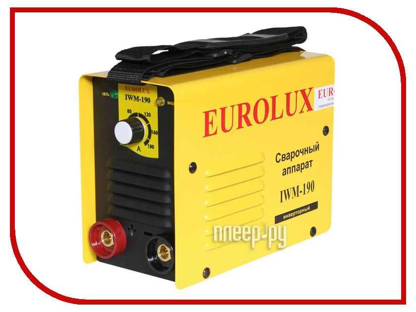 Сварочный аппарат Eurolux IWM-190 цена и фото