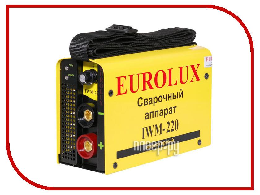 Сварочный аппарат Eurolux IWM-220 генератор бензиновый eurolux g3600a