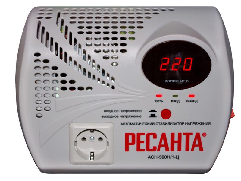Стабилизатор Ресанта АСН-500Н/1-Ц