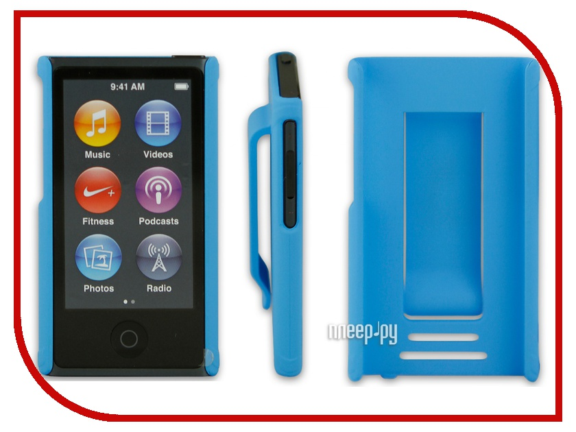 ��������� ����� Just Case for iPod Nano 7 Blue