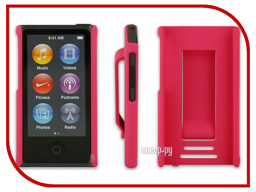 ��������� ����� Just Case for iPod Nano 7 Pink
