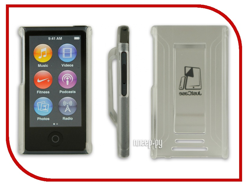 Чехол Just Case for iPod Nano 7 Transparent