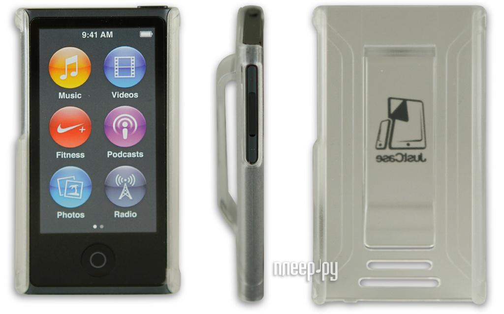 Аксессуар Чехол Just Case for iPod Nano 7 Transparent