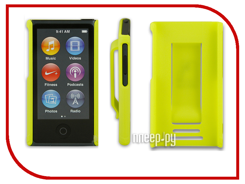 Аксессуар Чехол Just Case for iPod Nano 7 Yellow