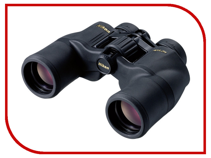 Бинокль Nikon 10x42 Aculon A211 бинокль bushnell legend ultra hd 10x42 камуфляж