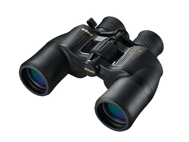 лучшая цена Бинокль Nikon 8-18x42 Aculon A211