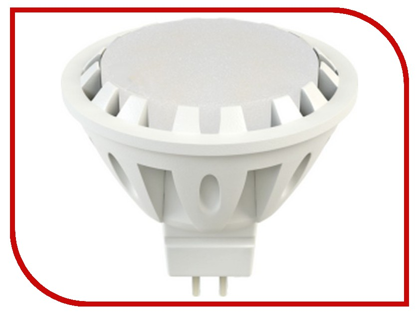 Лампочка X-flash Spotlight MR16 XF-SPL-GU5.3-6W-3K-12V желтый свет, матовая 43477<br>