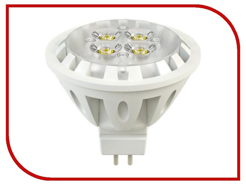 Лампочка X-flash Spotlight MR16 XF-SPL-L-GU5.3-6W-3K-220V желтый свет, линза 43491<br>