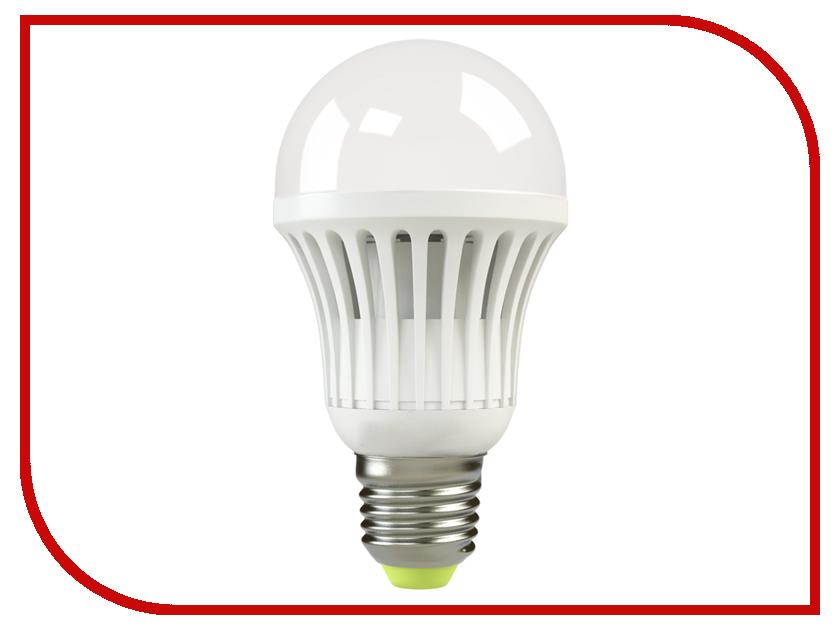 Лампочка X-flash Bulb XF-BG-E27-10W-3K-220V желтый свет, матовая 43538<br>