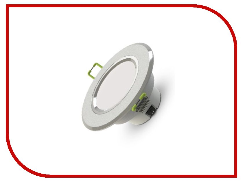 Светильник X-flash Downlight XF-DWL-80-3W-3K-220V 43606