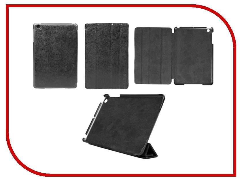 Аксессуар Чехол Continent for iPad mini кожаный Black IPM-41<br>
