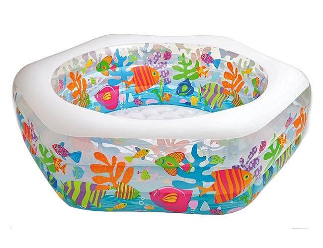 Детский бассейн Intex Риф 191x178cm 56493
