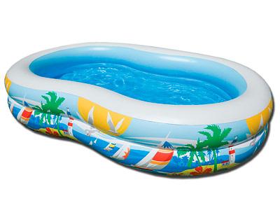 Детский бассейн Intex Swim Center 56490 Paradise Lagoon