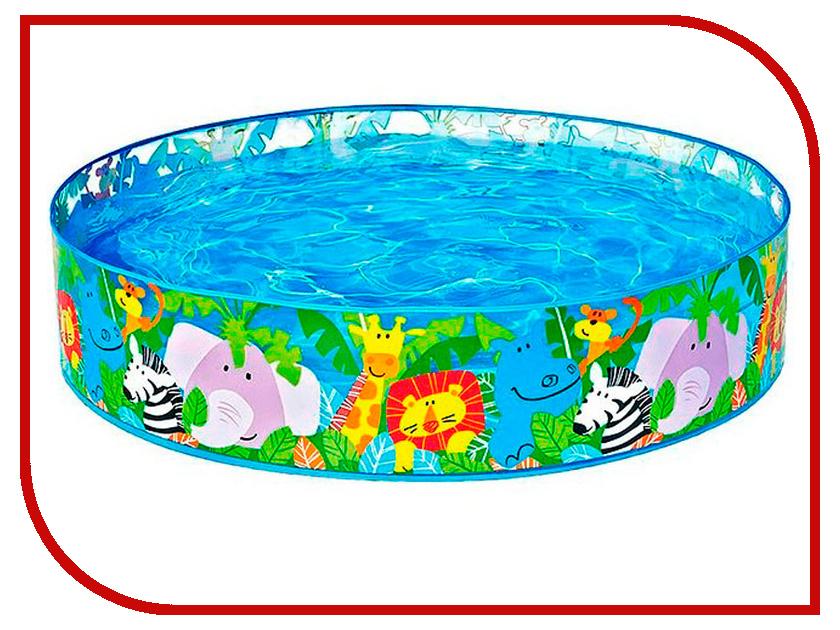 Детский бассейн Intex Джунгли 58474 лодка intex challenger k1 68305